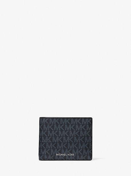 마이클 코어스 맨 지갑 Michael Kors Cooper Logo Billfold Wallet With Passcase