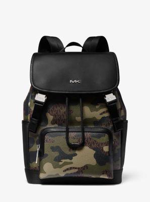 Cooper Camouflage Logo Backpack Michael Kors