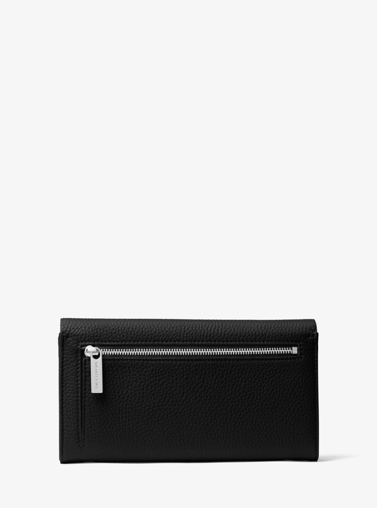 0a573baa739e73 ... Bancroft Pebbled Calf Leather Continental Wallet. Michael Kors  Collection