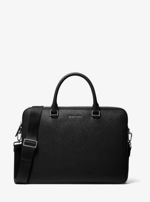 마이클 코어스 해리슨 슬림 사피아노 서류가방 Michael Kors Harrison Slim Saffiano Leather Briefcase