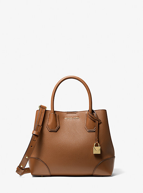 Mercer Gallery Small Faux Pebbled Leather Tote Bag