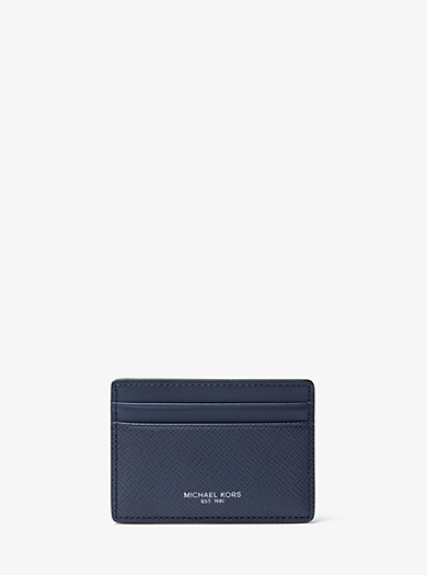 f88a2c60307f Harrison Leather Card Case · michael kors mens · Harrison Leather Card Case
