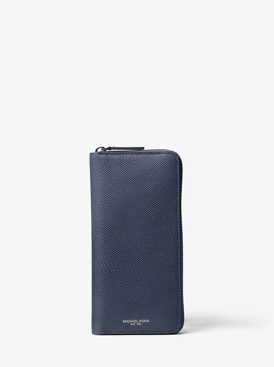 b90b47220bd91 Brieftasche Harrison Aus Leder Mit Rundum-reißverschluss