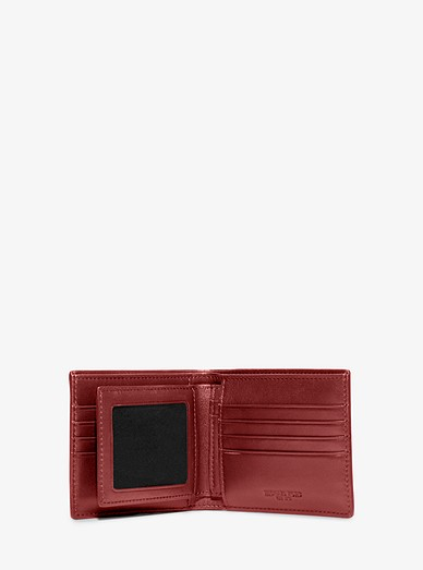 dac79a378665 Harrison Crossgrain Leather Billfold Wallet With Passcase. Michael Kors Mens