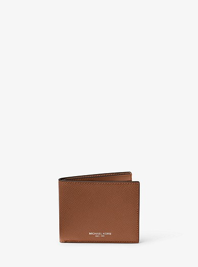 627fcfbb3c9d Harrison Leather Slim Billfold Wallet | Michael Kors
