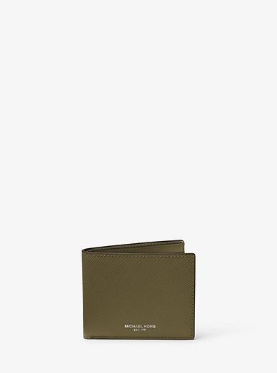 ddd54a6dc4b2 Harrison Leather Slim Billfold Wallet