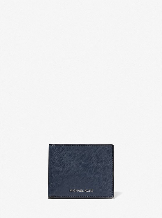 a4452d2208ae Harrison Leather Slim Billfold Wallet | Michael Kors