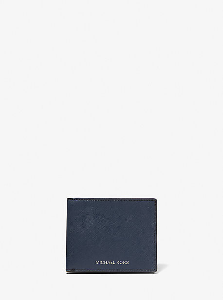 bdfc88fa9cb684 Harrison Leather Slim Billfold Wallet. michael kors mens ...