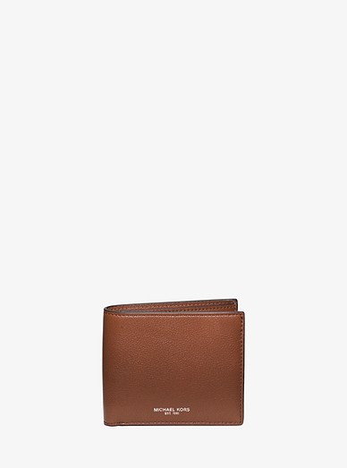 69f8c869a58b Bryant Pebbled Leather Billfold Wallet