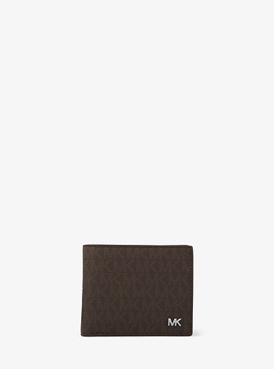 68d49b935224 Jet Set Logo Billfold Wallet With Coin Pocket | Michael Kors