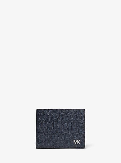 3adbd21fd451 Jet Set Logo Slim Billfold Wallet. michael kors mens ...
