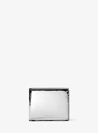 198200d2f428 Harrison Metallic Slim Billfold Wallet | Michael Kors