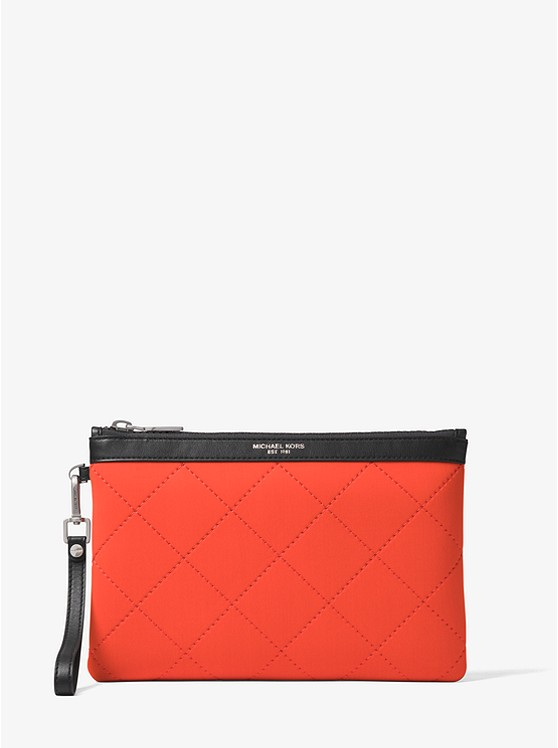 571596cf5ed9 Odin Quilted Neoprene Travel Pouch | Michael Kors