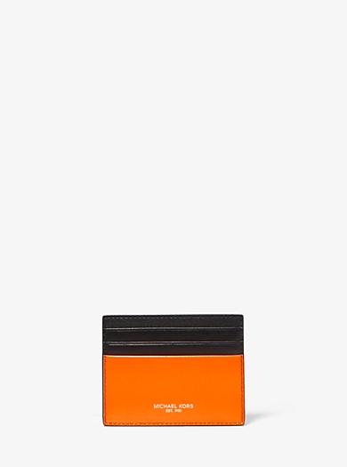 6c15e12425 Card Cases & Card Holders | Men's Wallets | Michael Kors