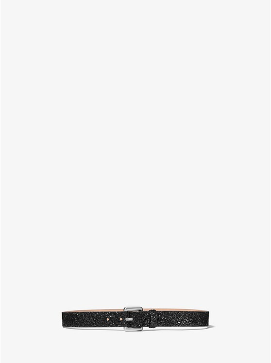 Glitter Waist Belt by Michael Kors Mens