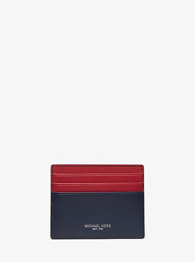 Porta carte di credito Odin grande in pelle · michael kors ... 46242d6fa31