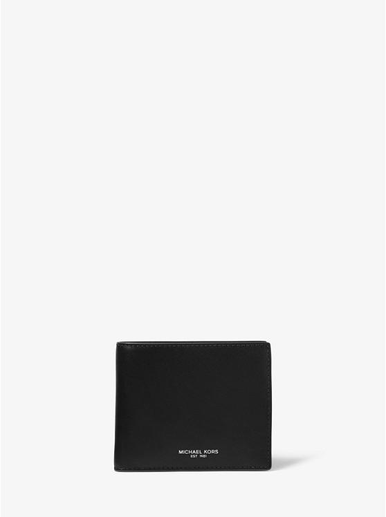 3e23d471b1f5d0 Odin Leather Billfold Wallet | Michael Kors