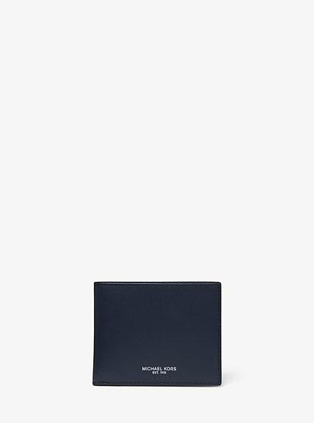 538e35e9c4080c Odin Leather Slim Billfold Wallet. michael kors ...