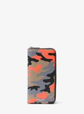e358a61974aa Harrison Camouflage Zip-Around Wallet