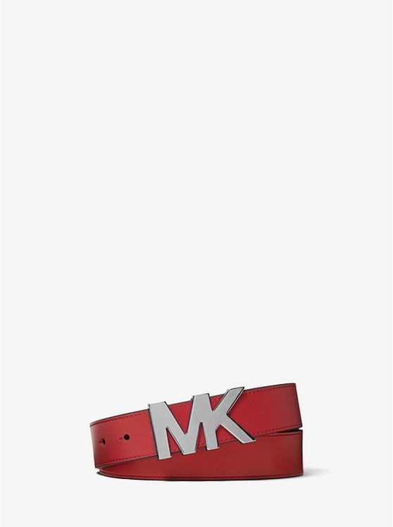 9ba1e09af35f7 Ledergürtel mit Logoschnalle Ledergürtel mit Logoschnalle. Schließen.  Ledergürtel mit Logoschnalle Ledergürtel mit Logoschnalle. Michael Kors Mens