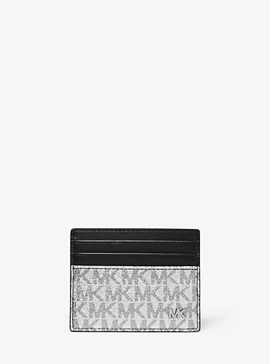 b9b6599079ff Jet Set Tall Metallic Logo Card Case · michael kors mens ...