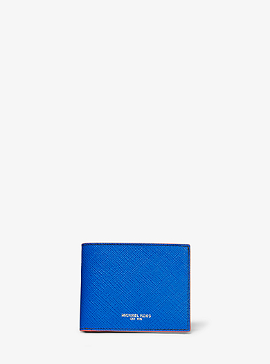 7afbc83f5a7105 Harrison Color-Block Leather Slim Billfold Wallet · michael kors ...