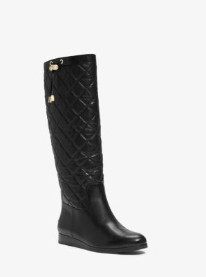047aa0e1d Lizzie Quilted-Leather Boot | Michael Kors