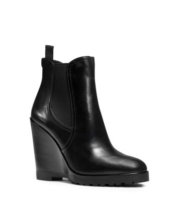 82535c47c53 Thea Leather Wedge Boot