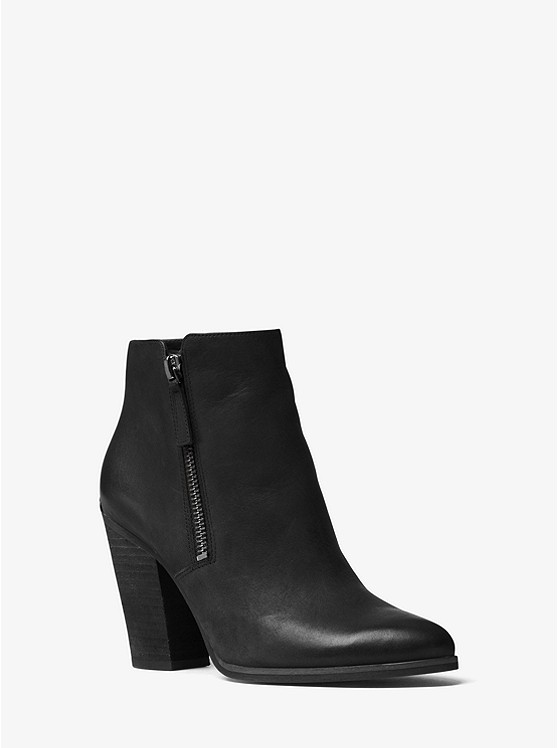 Denver Leather Ankle Boot