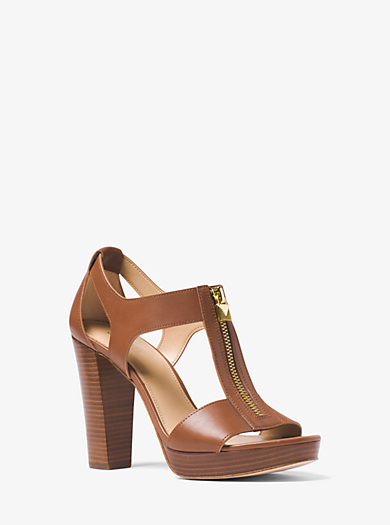 3adac0c37497 Berkley Lock Leather Platform Sandal