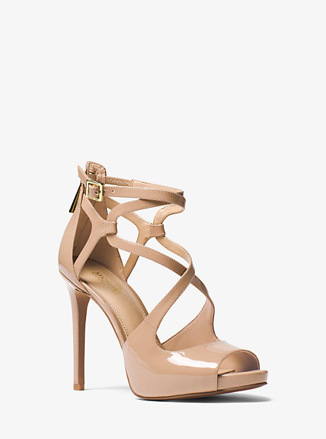 Catia Patent Leather Sandal