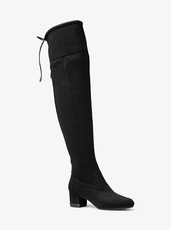 28119a14ce1 Jamie Stretch Over-The-Knee Mid-Heel Boot ...