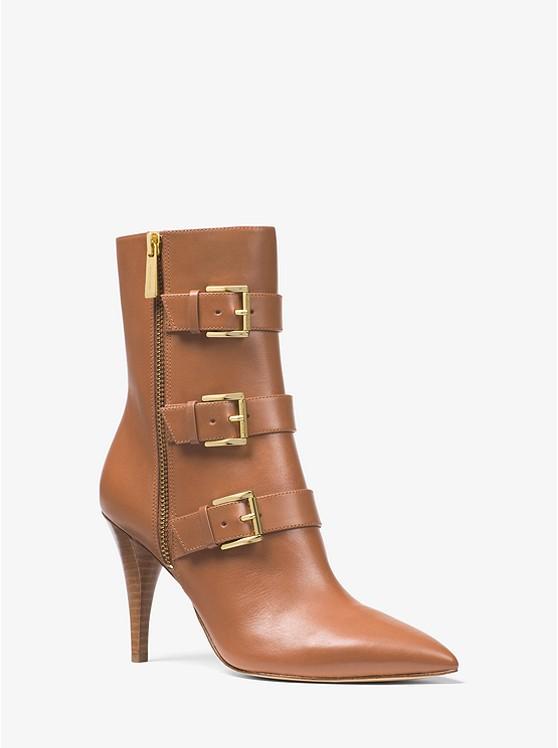 Lori Leather Mid-Calf Boot