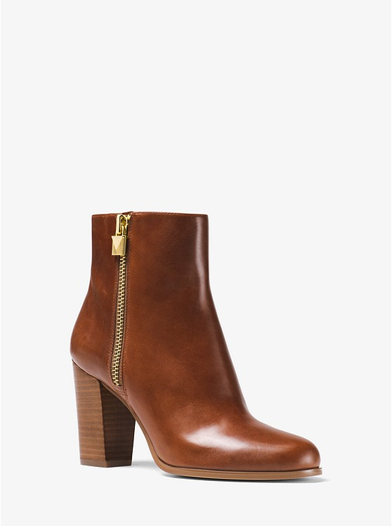Margaret Leather Ankle Boot