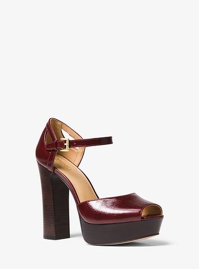 2cc50c1e1448 Blake Leather Platform Sandal