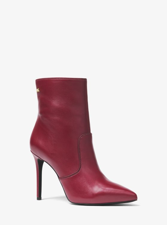 Blaine Leather Ankle Boot by Michael Michael Kors