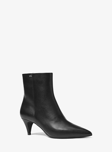 f72e6b85270a Blaine Flex Leather Ankle Boot | Michael Kors