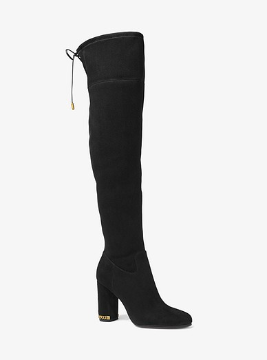60dfa3c3bc1 Jamie Stretch Over-the-knee Block-heel Boot
