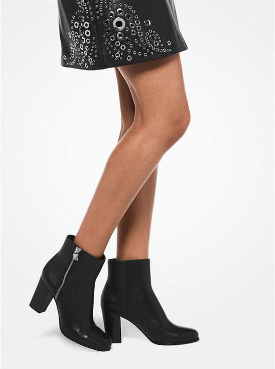 presenting store nice cheap Margaret Leather Ankle Boot | Michael Kors