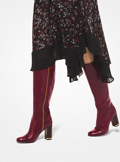 sells look for arrives Walker Leather Boot | Michael Kors