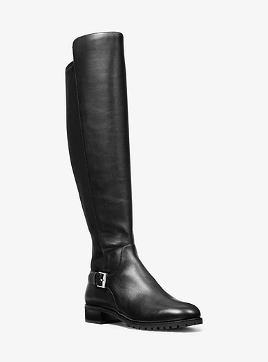 new arrival price reduced order Branson Stretch Leather Boot | Michael Kors