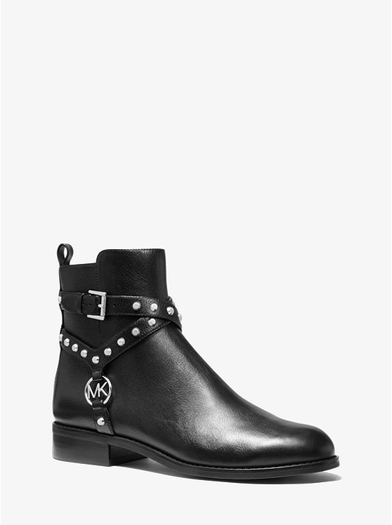 Preston Studded Leather Ankle Boot