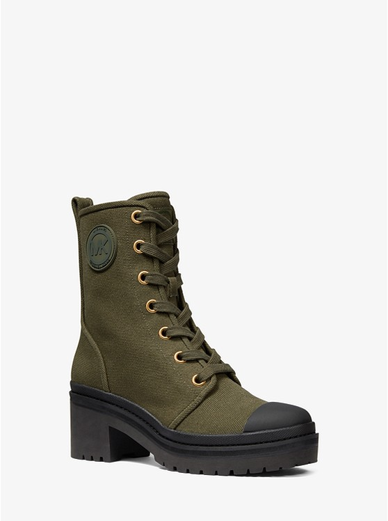 Corey Canvas Combat Boot