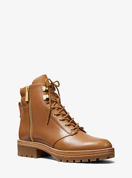 850277677f70 Rosario Leather Combat Boot · michael michael kors ...