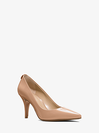 35a6c92f152 Flex Patent Leather Mid-Heel Pump