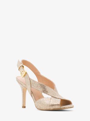 pgNIz2eBjp Becky Glitter Crisscross Slingback Sandals bnzqFey9KT