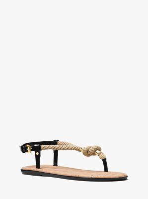 f4e3597bfb6f Holly Rope-Trim Sandal