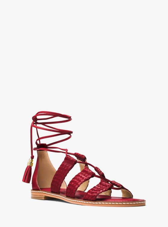 Monterey Gladiator Leather Lace-Up Sandal_preview0