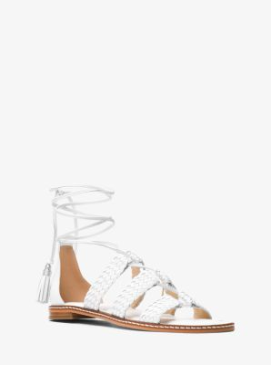 9e6a903cd6a7 Monterey Gladiator Leather Lace-Up Sandal