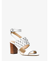 Valencia Studded Leather Sandal